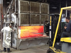 furnace that we use to perform heat treating